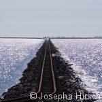 Gleise zur Hallig